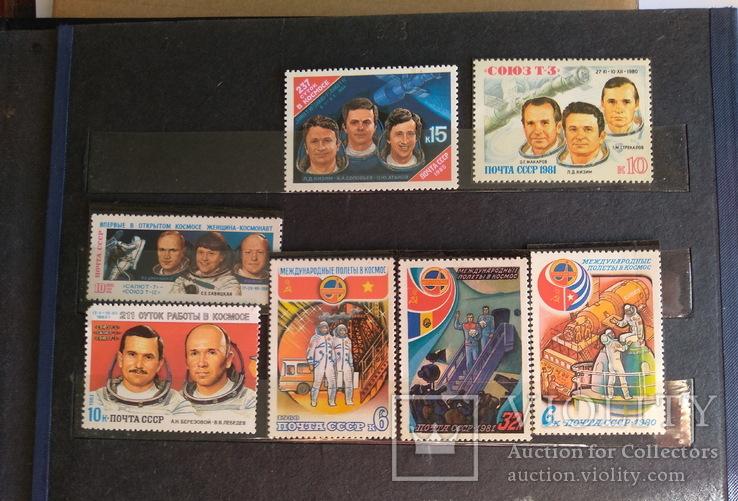 Колекція марок. Космос, кораблі, техніка, інше., фото №4