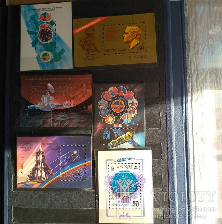 Колекція марок. Космос, кораблі, техніка, інше., фото №9