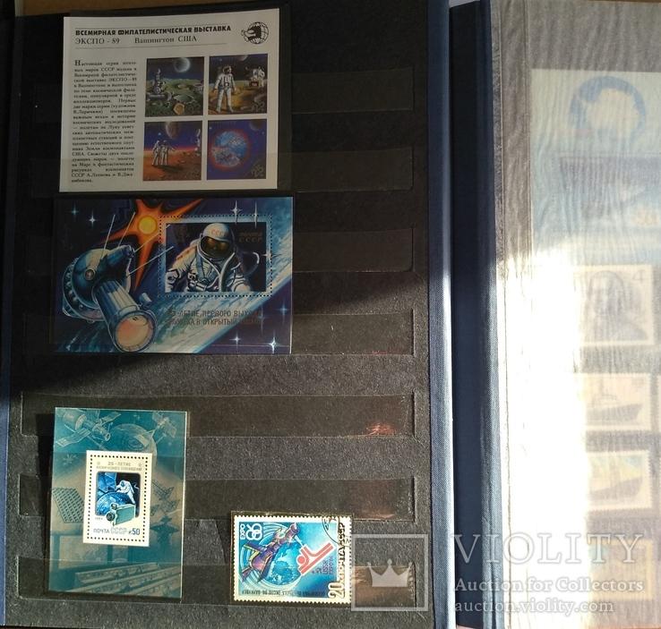 Колекція марок. Космос, кораблі, техніка, інше., фото №11