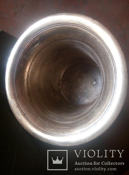 Бронзовая ступка. 2.5 кг (12-06-С), фото №5