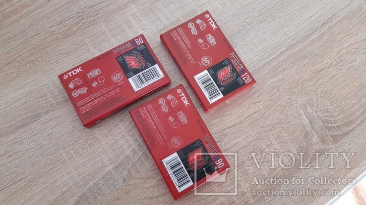 Касети TDK D60, TDK D90, TDK D120, фото №4