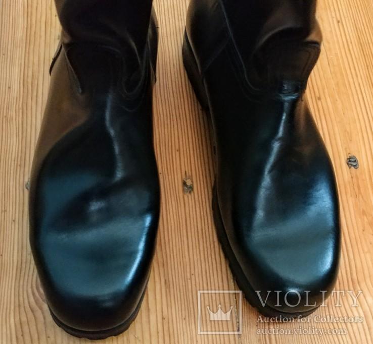 Сапоги хромовые новые 44 размер made in Italy Vibram, фото №6