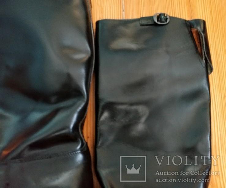 Сапоги хромовые новые 44 размер made in Italy Vibram, фото №8