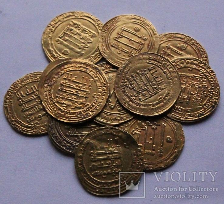 Аббасидские Динары 908-940 гг золото