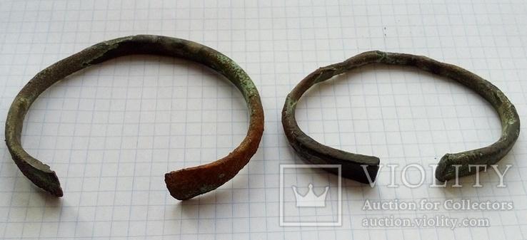 Два массивных Древних браслета ПК., фото №9