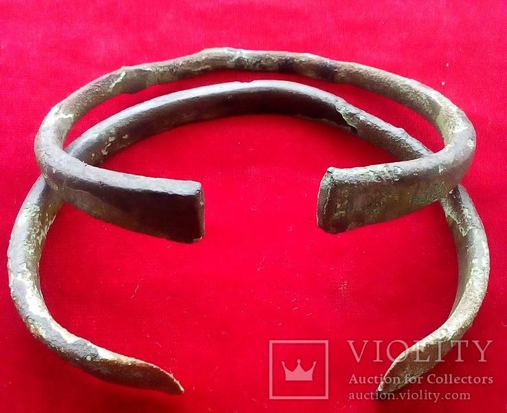 Два массивных Древних браслета ПК., фото №11