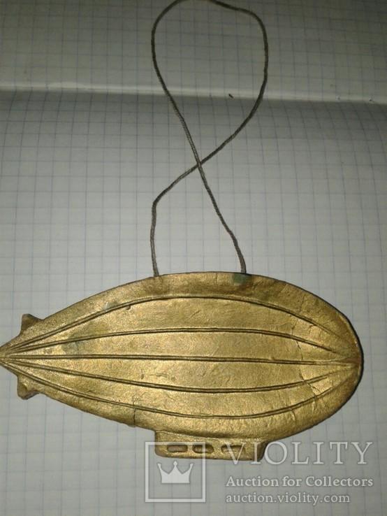 Ёлочная игрушка Дирежабль 30-тые, фото №10