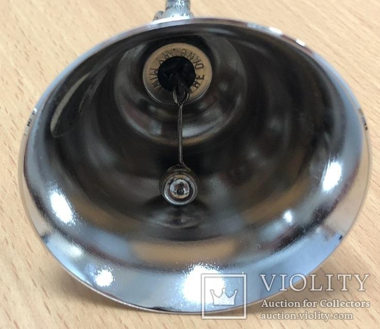 Металлический колокольчик с орлом, фото №8