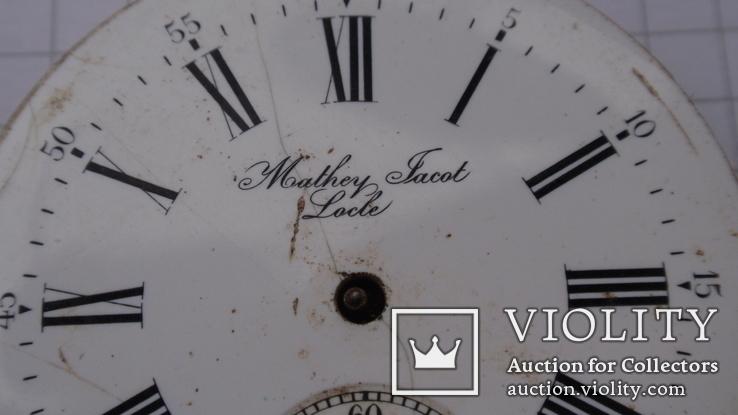 Механизм к карманным часам, Mathey Jacot - Locle, фото №4