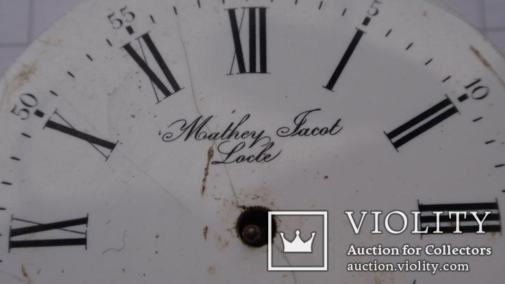 Механизм к карманным часам, Mathey Jacot - Locle, фото №5