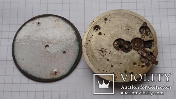 Механизм к карманным часам, Mathey Jacot - Locle, фото №6