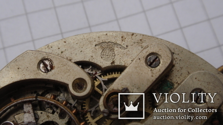 Механизм к карманным часам, Mathey Jacot - Locle, фото №11