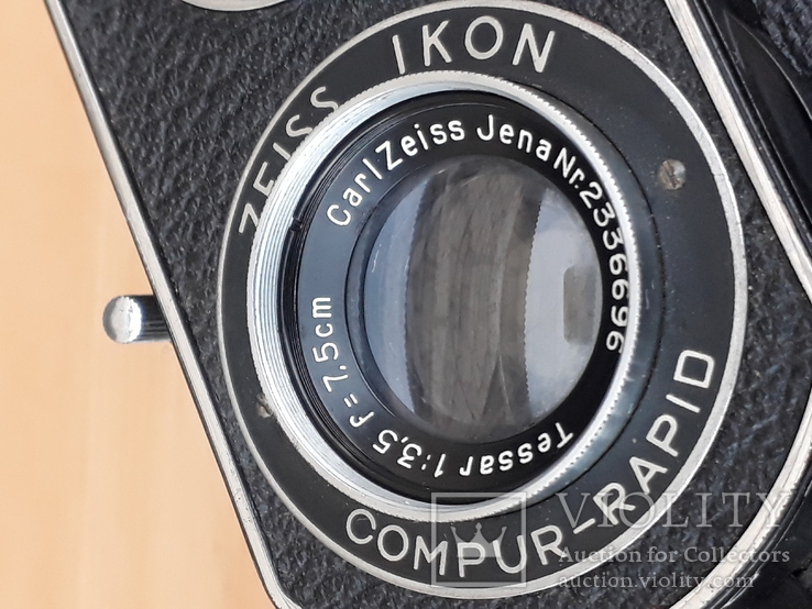 Фотоаппарат Ikoflex Zeiss Ikon ,рабочий, фото №12