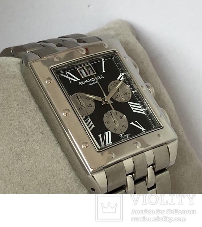 Часы швейцарские Raymond Weil Tango Chronograph, фото №8