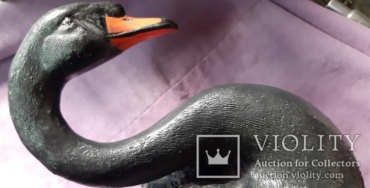 Статуэтка черный лебедь, фото №5