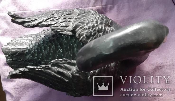 Статуэтка черный лебедь, фото №6