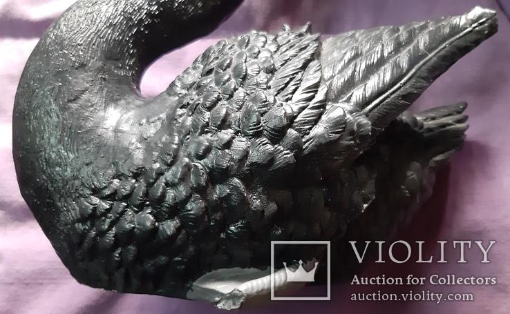 Статуэтка черный лебедь, фото №7