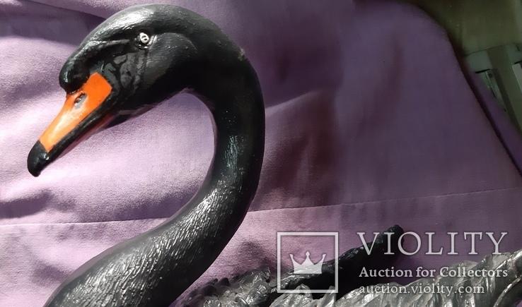 Статуэтка черный лебедь, фото №8
