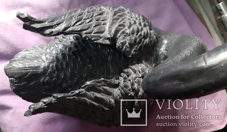 Статуэтка черный лебедь, фото №10