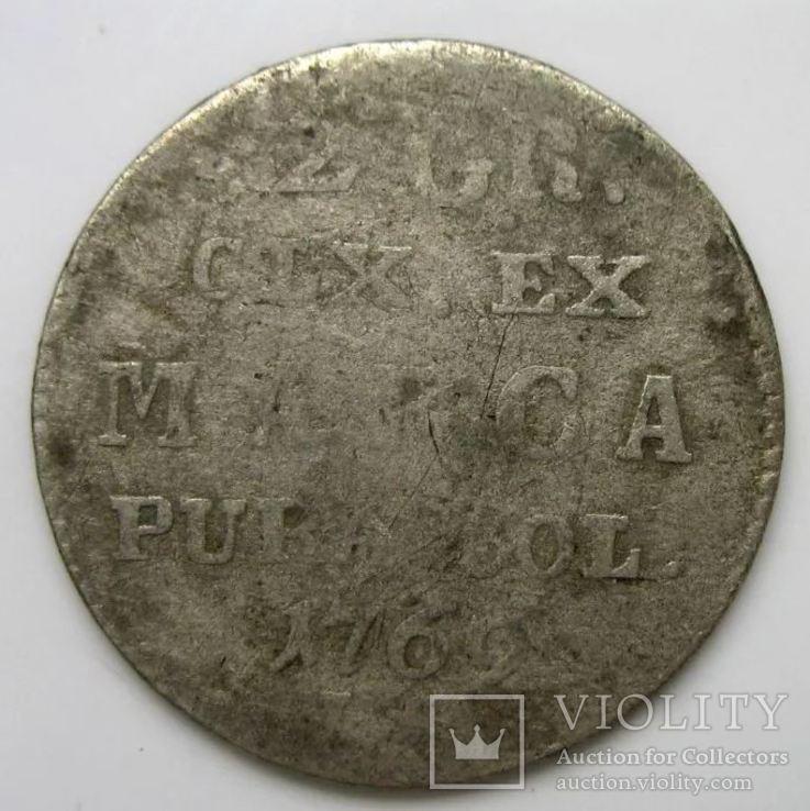 2 Гроша 1769 рік Польща Срібло, фото №2