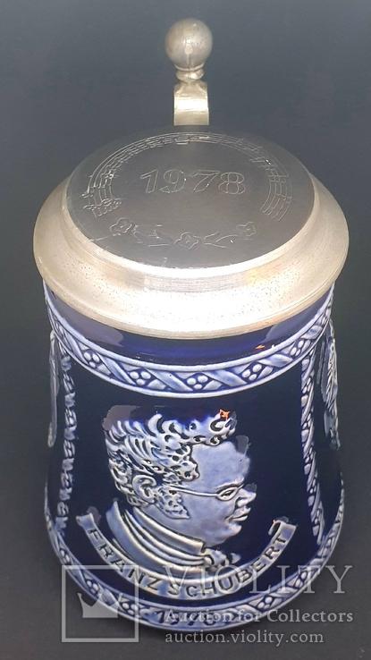 Коллекционая пивная кружка , Германия Marzi Remy, фото №9