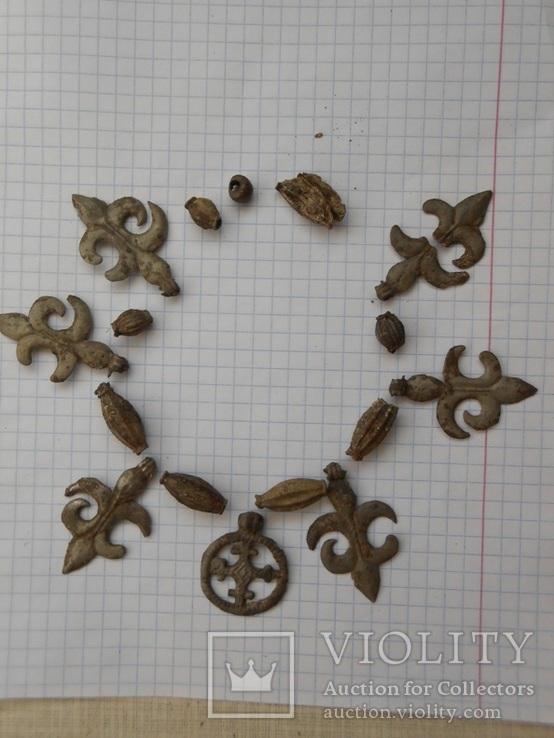 Ажерелье и колты на реставрацыю, фото №2