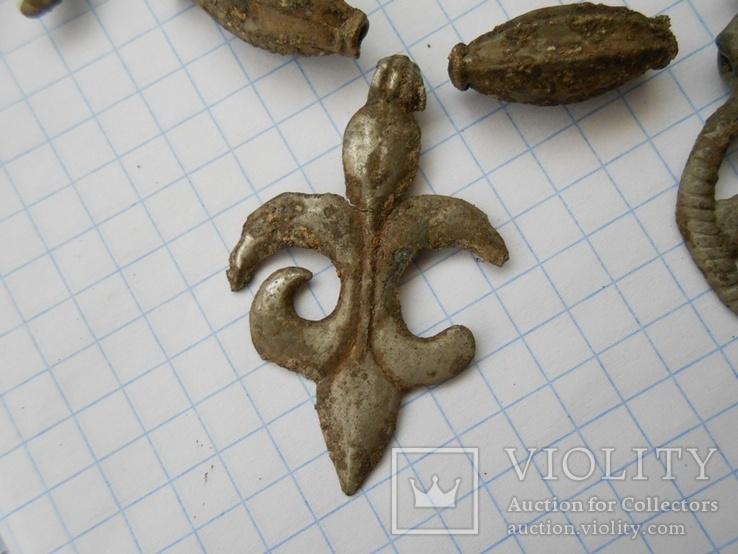 Ажерелье и колты на реставрацыю, фото №5