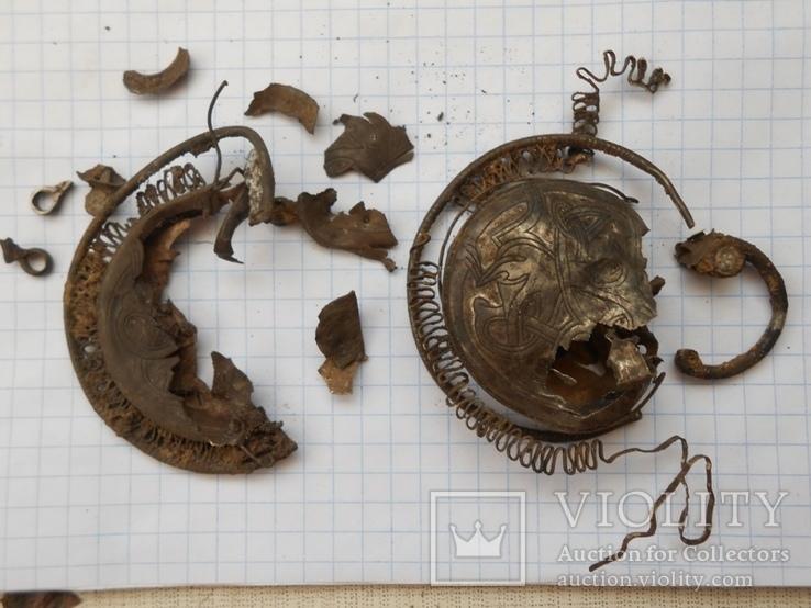 Ажерелье и колты на реставрацыю, фото №9