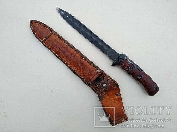 Штык нож образца 1958 года к автомату VZ-58. Чехословаки, фото №2