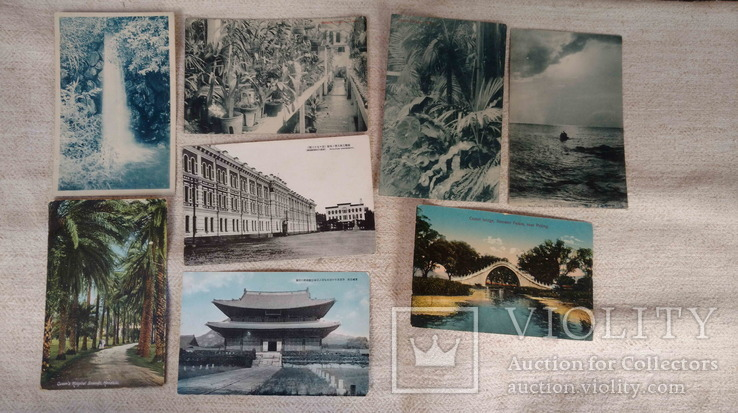 Листівки, Китай, 8шт. до 40-х рр., фото №2