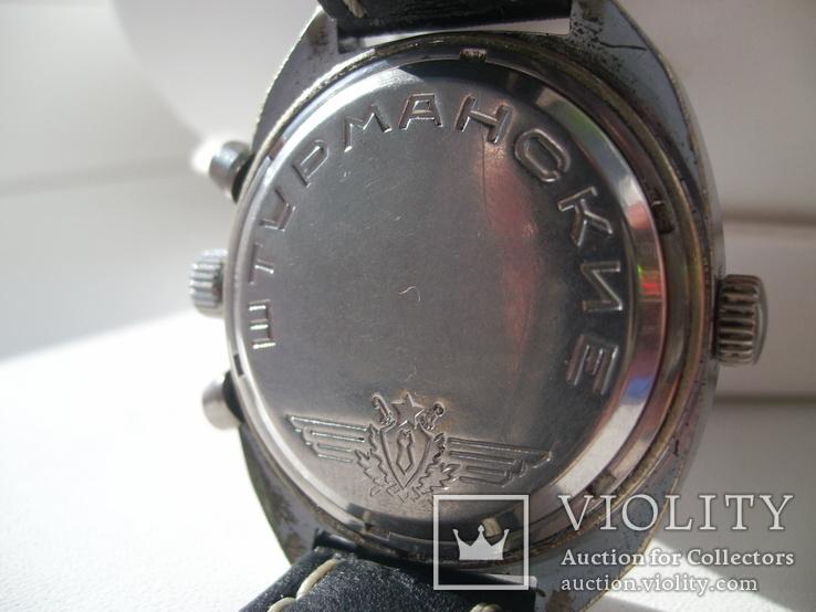 Часы лётчика СССР(штурманские) мех.3133, фото №4