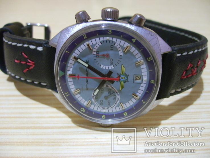 Часы лётчика СССР(штурманские) мех.3133, фото №6