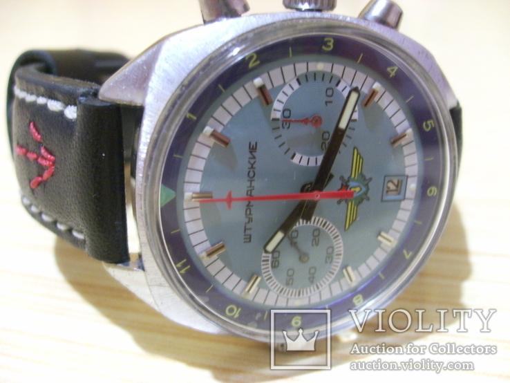 Часы лётчика СССР(штурманские) мех.3133, фото №8