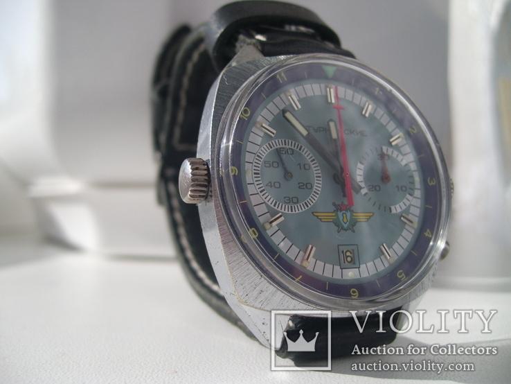 Часы лётчика СССР(штурманские) мех.3133, фото №12