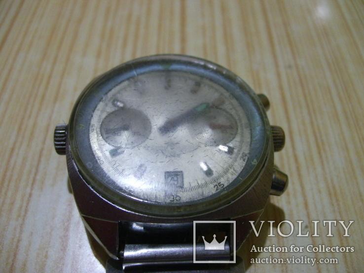 Часы лётчика СССР(штурманские) мех.3133, фото №13