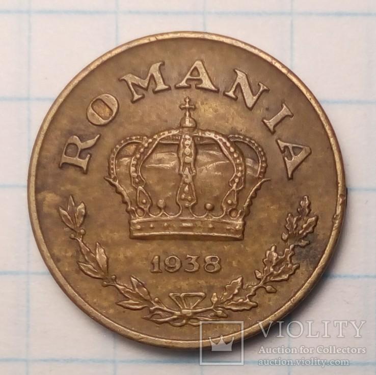 Румыния 1 лей, 1938  год, фото №3