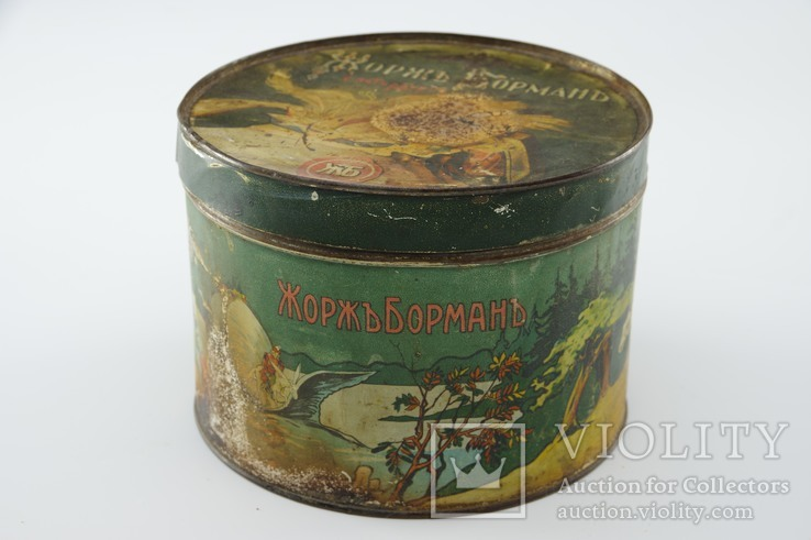 Коробка от конфет. Жорж Борман. начало ХХ века, фото №3