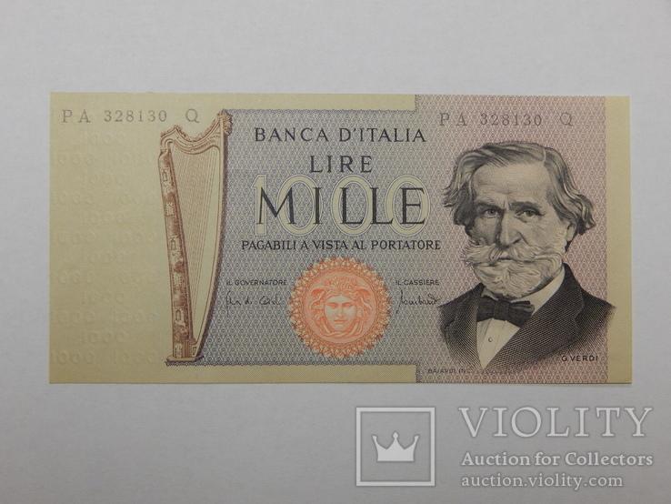 Бона 1000 лир, 1969 г Италия, фото №2