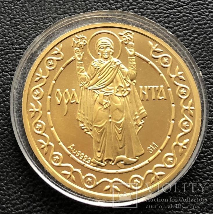 500 гривень 1996 рік. Оранта. Золото 31,1 грам. Тираж 1000 шт., фото №6