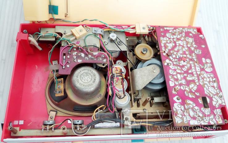 """Касетный магнитофон """"Томь - 401"""", 1976 год, рабочий., фото №11"""
