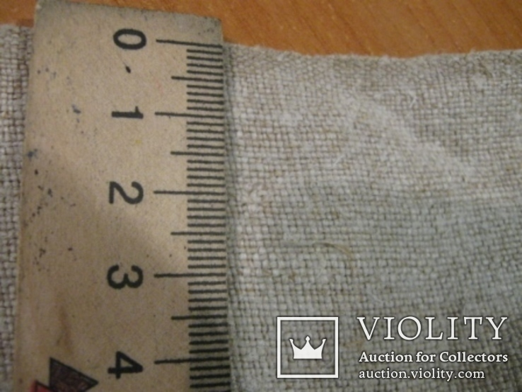 Домоткане полотно-0,54-12,7м, фото №2