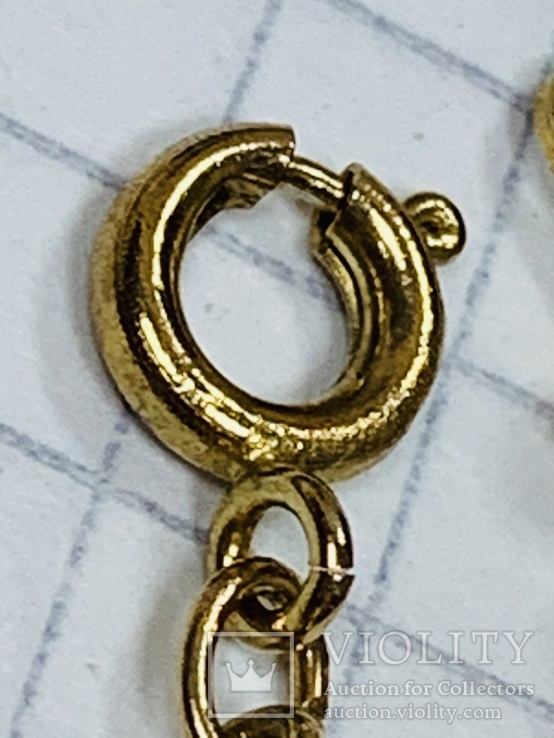 Браслет многорядный золотистых тонов, фото №6