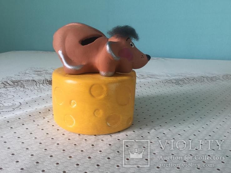 Скарбничка 'Мишка на сирі´, фото №2