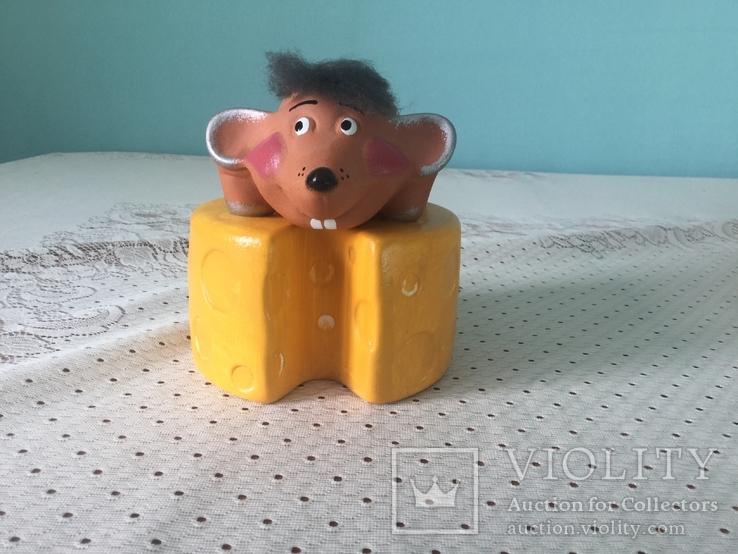 Скарбничка 'Мишка на сирі´, фото №3