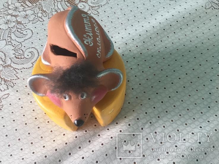 Скарбничка 'Мишка на сирі´, фото №6