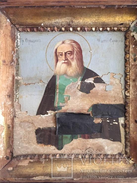 Икона Серафима Саровского, фото №8