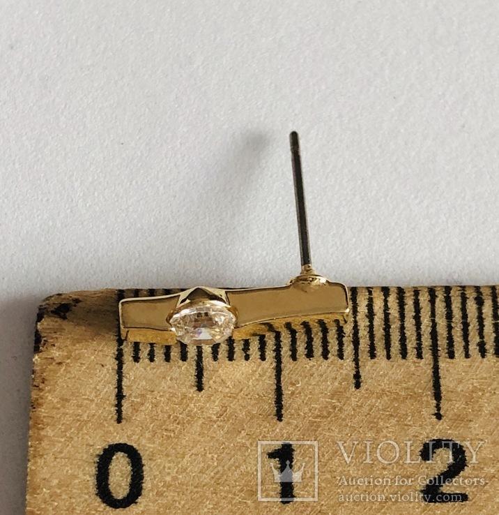 Гарнутур серьги с подвеской, фото №6