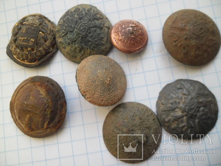 Мундирні гудзики на досліди чи реставрацію, фото №2