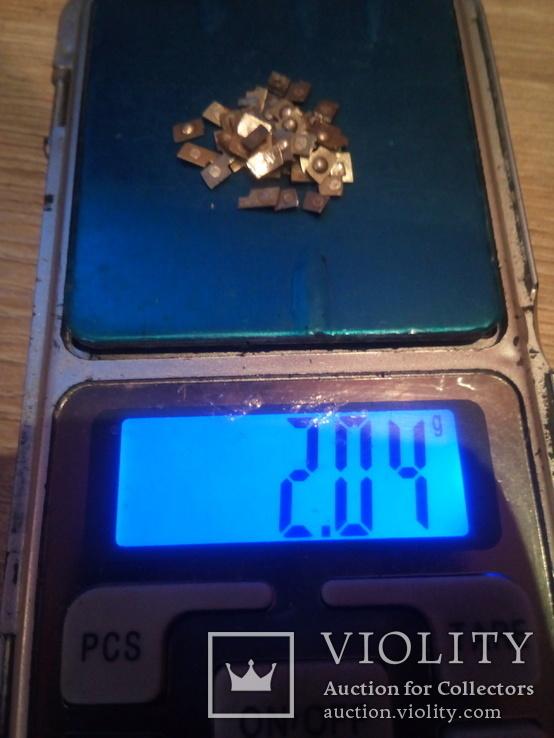 Серебро контактне немагнит 372.6 гр. магнит 141.76 гр + бонус обрезь, фото №3