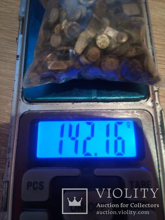 Серебро контактне немагнит 372.6 гр. магнит 141.76 гр + бонус обрезь, фото №5